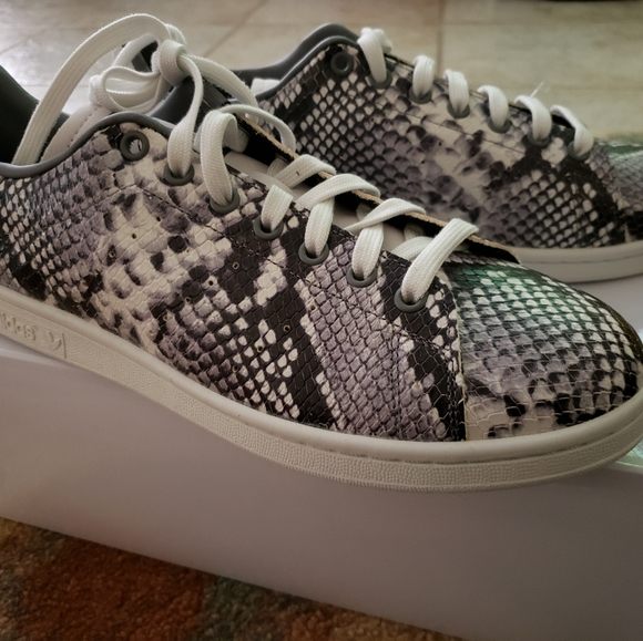 adidas Shoes | Nib Adidas Stan Smith Python Eh51 | Poshmark